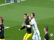 Bóng đá - Real: Ramos đánh cùi chỏ nhưng thoát thẻ đỏ