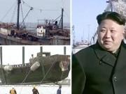 """Thế giới - Hàng loạt """"tàu ma"""" Triều Tiên trôi dạt vào vùng biển Nhật"""