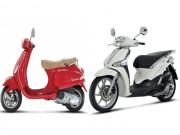 Xe máy - Xe đạp - Nên mua xe Vespa 2017 hay Liberty 2017?