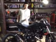 Xe máy - Xe đạp - Johnny Trí Nguyễn phục hồi mô tô PKL Ducati HyperMotard