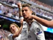 """Bóng đá - Ronaldo ăn mừng lạ: """"Khóa miệng"""" fan Real phong trào"""