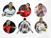 """Bóng đá - """"Nhà vua"""" Cúp C1 Ronaldo: Chúa tể của những màn ăn mừng"""