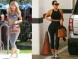 Điều gì khiến  Irina Shayk xách túi Hermes vào tận phòng gym?