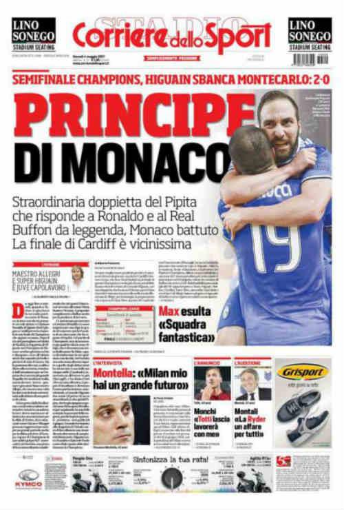 """Báo chí thế giới: Juve """"dạy dỗ"""" Monaco, fan tin sẽ hạ gục Real"""