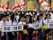 Giáo dục - du học - Căng thẳng suất vào lớp 10 trường công ở Hà Nội