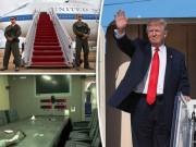 """"""" Hầm trú ẩn trên trời """"  giúp Trump tránh bom hạt nhân"""