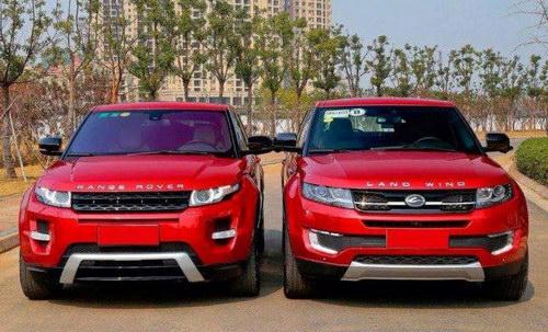 Người dùng chuộng xe nhái Land Rover hơn hàng xịn