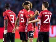 Bóng đá - MU: Rashford rực sáng, Mourinho hết lời ca ngợi