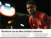 Bóng đá - Rashford gánh đội, fan MU ảo tưởng trên trình Messi