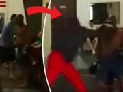 Thể thao - Cú sốc MMA: Thanh niên thách đấu, 1 đấm hạ gục võ sĩ