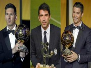 """Sự kiện - Bình luận - Messi, Ronaldo kinh sợ: """"Người nhện"""" Buffon đua Bóng vàng"""