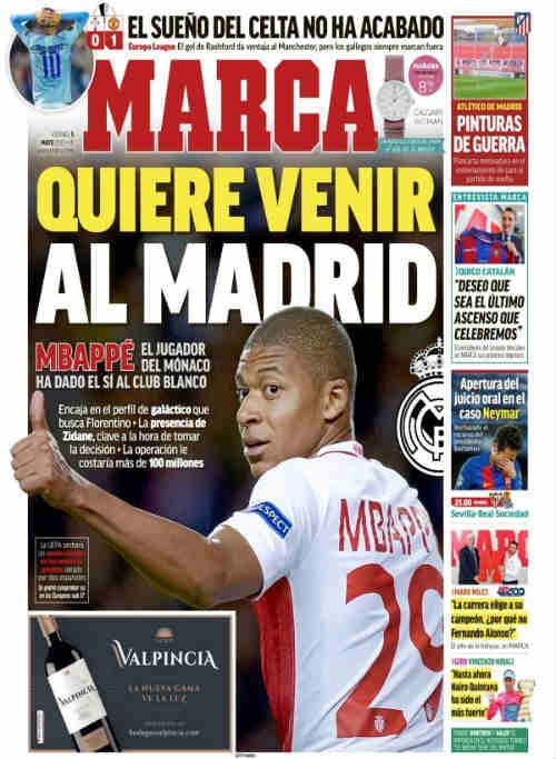 Sợ mất vị trí, CR7 ngăn Real mua Mbappe 100 triệu euro