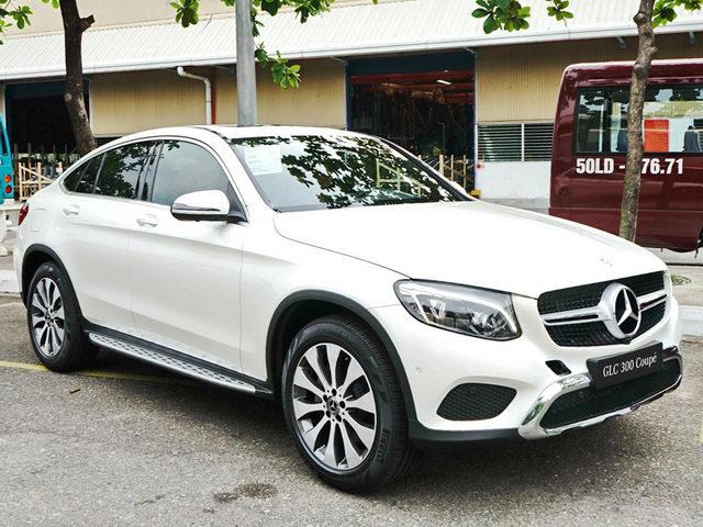 Mercedes GLC 300 Coupe giá 2,9 tỷ đồng ở Việt Nam