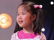 Cô bé khiếm thị hát về mẹ làm lay động triệu người xem truyền hình
