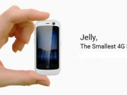 Jelly - smartphone Android nhỏ nhất thế giới hỗ trợ kết nối 4G