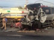 Tin tức trong ngày - Va chạm kinh hoàng giữa xe đầu kéo và xe tải, 2 người chết