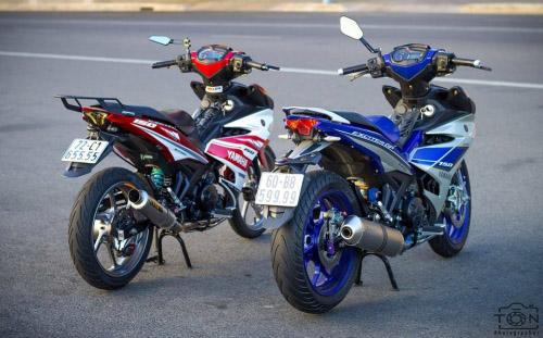 Ngắm bộ đôi Yamaha Exciter 150 biển tứ quý độ 'ngầu' của biker Việt - 1