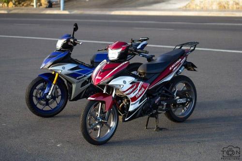 Ngắm bộ đôi Yamaha Exciter 150 biển tứ quý độ 'ngầu' của biker Việt - 3