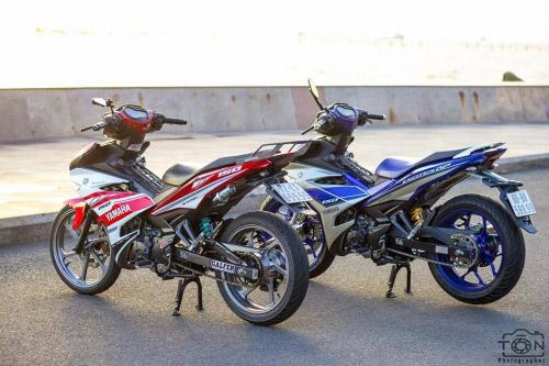 Ngắm bộ đôi Yamaha Exciter 150 biển tứ quý độ 'ngầu' của biker Việt - 4
