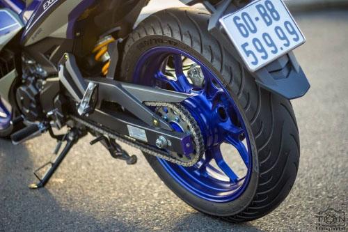 Ngắm bộ đôi Yamaha Exciter 150 biển tứ quý độ 'ngầu' của biker Việt - 7