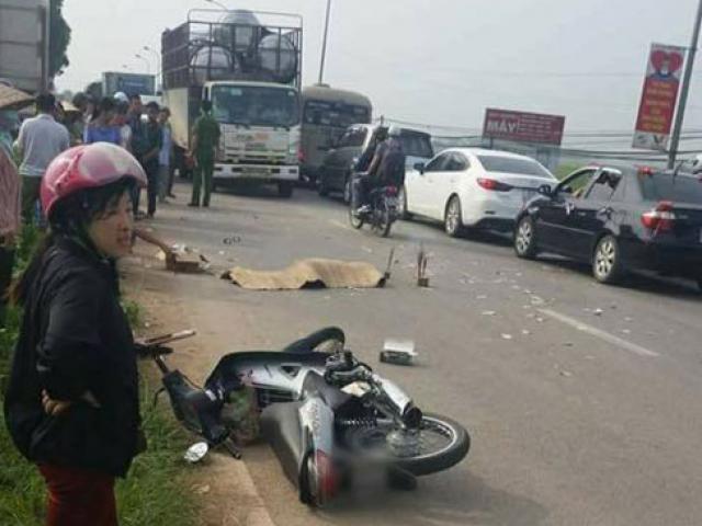 Hà Nội: Cô gái trẻ bị xe tải cán chết thương tâm