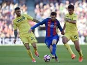 Chi tiết Barcelona - Villarreal: Tưng bừng với Messi, Suarez, Neymar (KT)