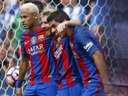 """Barca: Khi  """" hỏa tiễn """"  Messi-Suarez-Neymar thiếu bệ đỡ"""