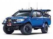 """Bán tải Mitsubishi Triton độ  """" tới nóc """"  là phải như thế này!"""