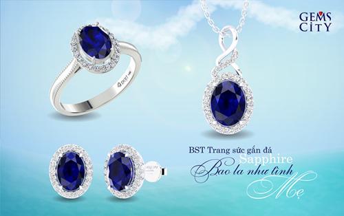 Sapphire – Viên đá mang sắc xanh đại dương dành cho mẹ - 4