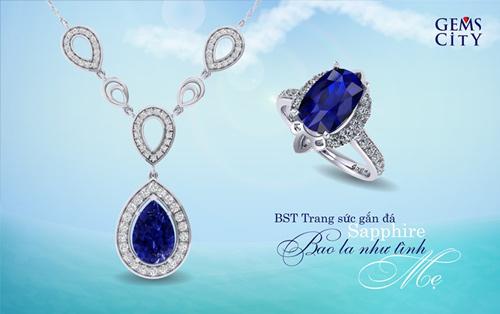 Sapphire – Viên đá mang sắc xanh đại dương dành cho mẹ - 6