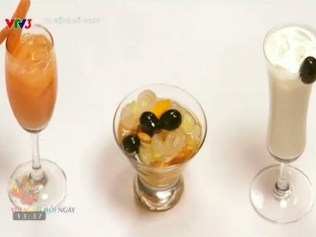 3 món nước thanh nhiệt cho ngày nắng nóng