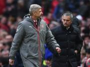 """Bóng đá - Đại chiến Arsenal - MU: Wenger thoát """"lời nguyền"""" Mourinho"""
