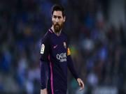 Bóng đá - Messi từ chối gia hạn Barca: Vòi tiền tấn hay hết tình yêu