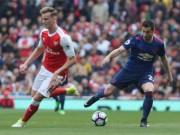 Bóng đá - Góc chiến thuật Arsenal – MU: Mkhitaryan đá... hậu vệ biên