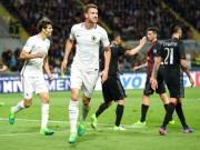 AC Milan - Roma: Thẻ đỏ, siêu phẩm  & amp; mưa bàn thắng