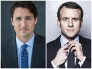 """Style Thủ tướng Canada và Tân tổng thống Pháp ai  """" đỉnh """"  hơn?"""