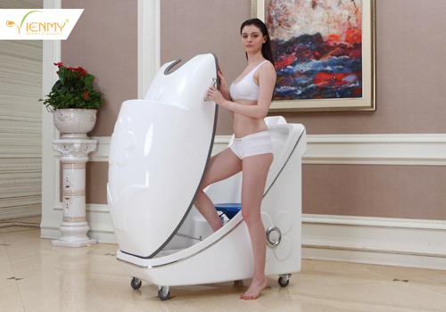 Máy phi thuyền tắm trắng toàn thân tạo dịch vụ spa ấn tượng - 2