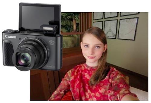 Canon ra mắt máy ảnh chuyên selfie, zoom quang 40x - 1