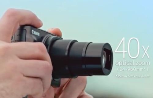 Canon ra mắt máy ảnh chuyên selfie, zoom quang 40x - 2
