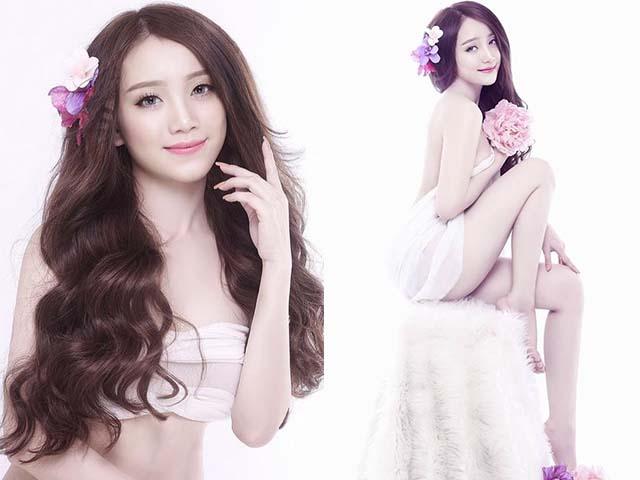 Không ngờ bạn gái hot girl của Quế Ngọc Hải, Văn Thanh lại sexy thế