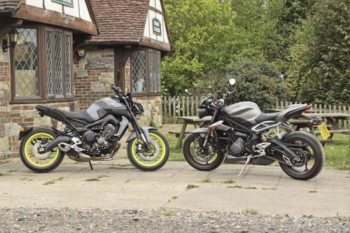 Lựa chọn Yamaha MT-09 hay Triumph Speed Triple 765 RS? - 1