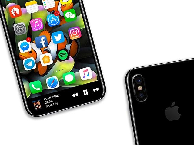 iPhone 8 sẽ có màn hình OLED phủ toàn bộ mặt trước?