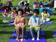 """Bạn trẻ - Cuộc sống - Giới trẻ Hàn Quốc """"phát sốt"""" với môn thể thao... không làm gì"""