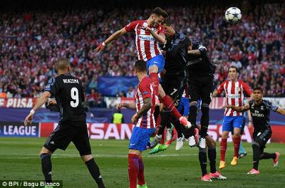Chi tiết Atletico – Real Madrid: Còn nước còn tát (KT) 11