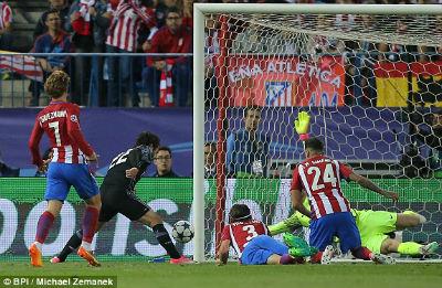 Chi tiết Atletico – Real Madrid: Còn nước còn tát (KT) 13