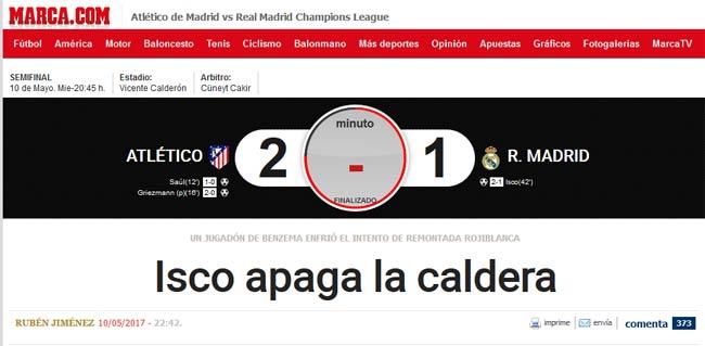 """Báo chí thế giới: Real """"thuần hóa"""" Atletico, ngọc quý Isco - 2"""