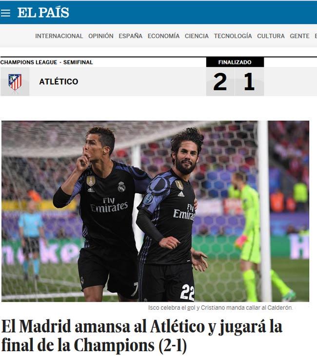 """Báo chí thế giới: Real """"thuần hóa"""" Atletico, ngọc quý Isco - 1"""