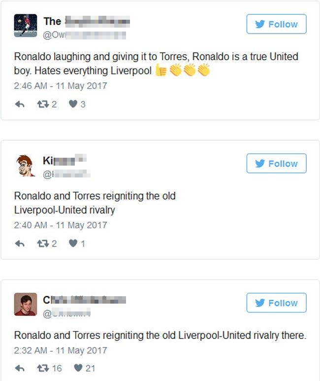 Ronaldo bị Torres phỉ báng: Thâm thù từ MU - Liverpool - 3