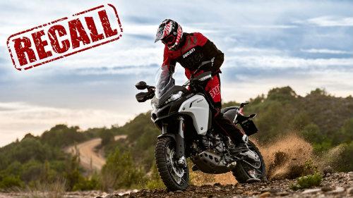 """Ducati triệu hồi """"chiến mã"""" Multistrada 1200 Enduro - 1"""