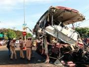 Vụ đâm xe 13 người chết ở Gia Lai: Xe tải chở quá tải